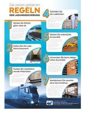 Die sieben goldenen Regeln der Ladungssicherung von Fuchs,  Uta