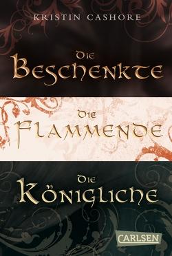 Die Beschenkte/Die Flammende/Die Königliche – Gesamtausgabe (Die sieben Königreiche ) von Brender,  Irmela, Cashore,  Kristin, Diestelmeier,  Katharina