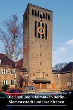 Die Siedlung 'Heimat' in Berlin-Siemensstadt und ihre Kirchen von Held,  Bettina