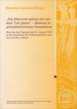 """""""Die Sklaverei setzen wir mit dem Tod gleich"""" – Sklaven in globalhistorischer Perspektive von Schmitz,  Winfried"""