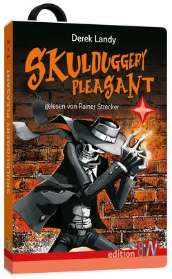Die Skulduggery Pleasant Box von Höfker,  Ulla, Landy,  Derek, Strecker,  Rainer