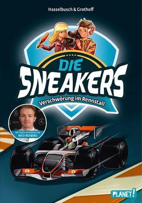 Die Sneakers 3: Verschwörung im Rennstall von Grothoff,  Stefan, Hasselbusch,  Birgit, Zapf