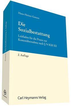 Die Sozialbestattung von Gotzen,  Hans-Heiner