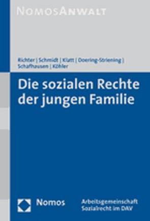 Die sozialen Rechte der jungen Familie von Doering-Striening,  Gudrun, Klatt,  Michael, Köhler,  Hajo A., Richter,  Ronald, Schafhausen,  Martin, Schmidt,  Bettina