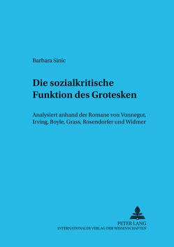 Die sozialkritische Funktion des Grotesken von Fink,  Barbara