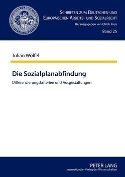 Die Sozialplanabfindung von Wölfel,  Julian