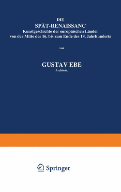 Die Spät-Renaissance von Ebe,  Gustav