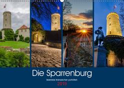 Die Sparrenburg. Bielefelds Wahrzeichen porträtiert. (Wandkalender 2019 DIN A2 quer) von Dumcke,  Rico