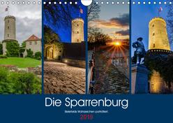 Die Sparrenburg. Bielefelds Wahrzeichen porträtiert. (Wandkalender 2019 DIN A4 quer) von Dumcke,  Rico