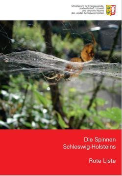 Die Spinnen Schleswig-Holsteins – Rote Liste von Irmler,  Ulrich, Lemke,  Martin, Reinke,  Hans-Dieter, Vahder,  Susanne