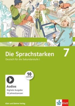 Die Sprachstarken 7 von Bertschi,  Mirjam, Cathomas,  Verena, Dischl,  Christian