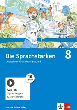 Die Sprachstarken 8 von Cathomas,  Verena, Dischl,  Christian, Frei-Schär,  Ruth