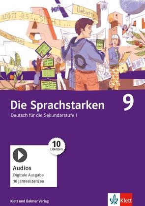 Die Sprachstarken 9 von Cathomas,  Verena, Dischl,  Christian, Frei-Schär,  Ruth
