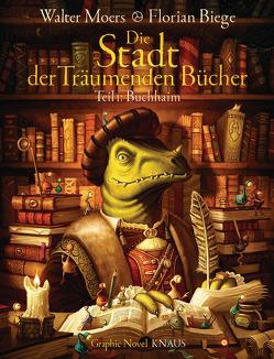 Die Stadt der Träumenden Bücher (Comic) von Biege,  Florian, Moers,  Walter