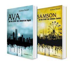 Die STADT. Zwei Urban-Fantasy-Romane in einem Bundle (Ava und die STADT der schwarzen Engel / Samson und die STADT des bleichen Teufels) von Dresen,  Andreas