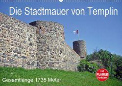 Die Stadtmauer von Templin (Wandkalender 2020 DIN A2 quer) von Mellentin,  Andreas