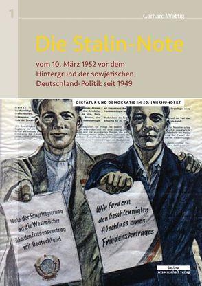 Die Stalin-Note von Wettig,  Gerhard