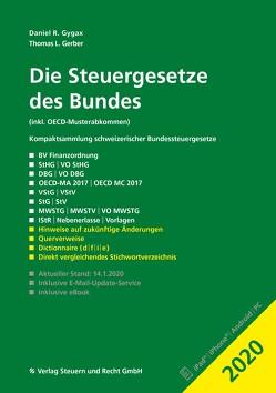 Die Steuergesetze des Bundes 2020 von Gerber,  Thomas L., Gygax,  Daniel R.