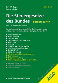 Die Steuergesetze des Bundes – Edition Zürich 2020 von Gerber,  Thomas L., Gygax,  Daniel R.