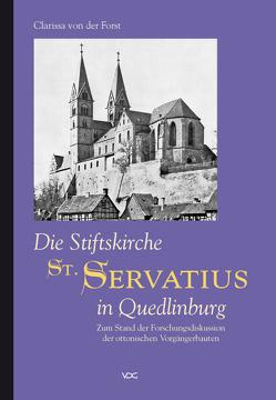 Die Stiftskirche St. Servatius in Quedlinburg von Forst,  Clarissa von der