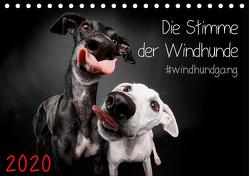 Die Stimme der Windhunde (Tischkalender 2020 DIN A5 quer) von Gier,  Marcus