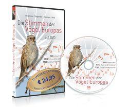 Die Stimmen der Vögel Europas auf DVD von Baumann,  Sabine, Bergmann,  Hans-Heiner, Engländer,  Wiltraud, Helb,  Hans-Wolfgang
