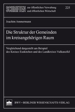 Die Struktur der Gemeinden im kreisangehörigen Raum von Ammermann,  Joachim