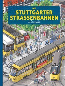 Die Stuttgarter Straßenbahnen wimmeln von Krehan,  Tina