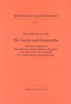Die Suche nach Gottesnähe von Luiselli,  Maria M
