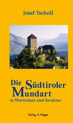 Die Südtiroler Mundart in Wortschatz und Struktur von Tscholl,  Josef