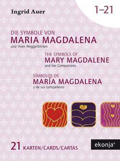 Die Symbole von Maria Magdalena und ihren Weggefährten mit Guidebook Deutsch von Auer,  Ingrid