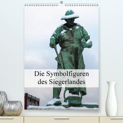 Die Symbolfiguren des Siegerlandes (Premium, hochwertiger DIN A2 Wandkalender 2021, Kunstdruck in Hochglanz) von U. Irle,  Dag