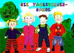 Die Tageskinder-Bande. von Witham,  Frauke