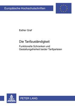 Die Tarifzuständigkeit von Graf,  Esther