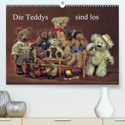 Die Teddys sind los (Premium, hochwertiger DIN A2 Wandkalender 2021, Kunstdruck in Hochglanz) von Eckerlin,  Claus