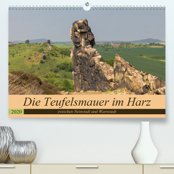 Die Teufelsmauer im Harz (Premium, hochwertiger DIN A2 Wandkalender 2020, Kunstdruck in Hochglanz) von Fotografie,  ReDi