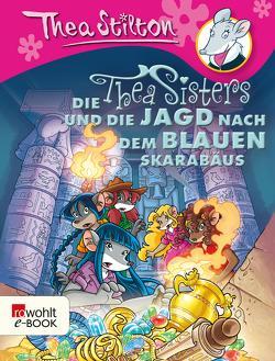 Die Thea Sisters und die Jagd nach dem blauen Skarabäus von Brandestini,  Julika, Stilton,  Thea