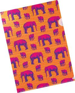 Die Tiere Afrikas Bunte Sichthüllen Motiv Elefant von Schöll,  Stephan