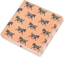 Die Tiere Afrikas Papierservietten Motiv Zebra
