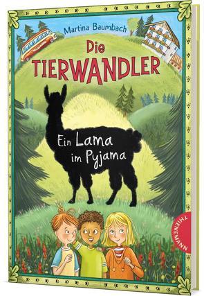 Die Tierwandler 4: Ein Lama im Pyjama von Baumbach,  Martina, Klaßen,  Stefanie