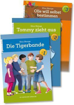 Die Tigerbande – in einfacher Sprache von Halder,  Cora, Skauge,  Nina