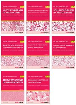 Die TMS-Vorbereitung 2020 SET: 8 Übungsbücher zu allen Untertests für den Medizinertest in Deutschland mit Übungsaufgaben, Lösungsstrategien, Tipps und Methoden (Test für Medizinische Studiengänge) von Rengier,  Fabian