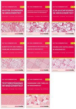 Die TMS-Vorbereitung SET 2018: 8 Übungsbücher zu allen Untertests für den Medizinertest in Deutschland von Rengier,  Fabian