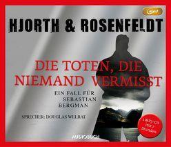 Die Toten, die niemand vermißt (MP3-CD) von Allenstein,  Ursel, Hjorth,  Michael, Rosenfeldt,  Hans, Welbat,  Douglas