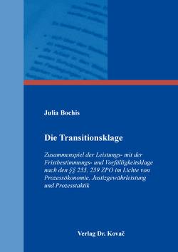 Die Transitionsklage von Bochis,  Julia
