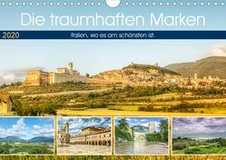 Die traumhaften Marken (Wandkalender 2020 DIN A4 quer) von Gann,  Markus