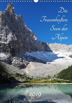 Die Traumhaften Seen der Alpen (Wandkalender 2019 DIN A3 hoch) von Schwarzfischer Miriam,  Fotografie