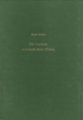 Die Treverer ausserhalb ihrer Civitas von Krier,  Jean