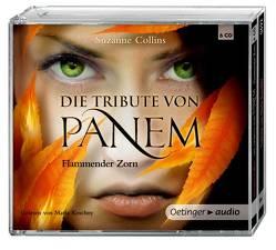 Die Tribute von Panem. Flammender Zorn (6 CD) von Collins,  Suzanne, Gustavus,  Frank, Hachmeister,  Sylke, Hörl,  Hanna, Klöss,  Peter, Koschny,  Maria, Langer,  Markus