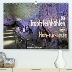 Die Tropfsteinhöhlen von Han-sur-Lesse (Premium, hochwertiger DIN A2 Wandkalender 2020, Kunstdruck in Hochglanz) von Haafke,  Udo